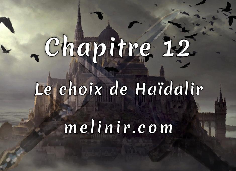 Melinir Tome 1 - Chapitre 12 - Le choix de Haïdalir
