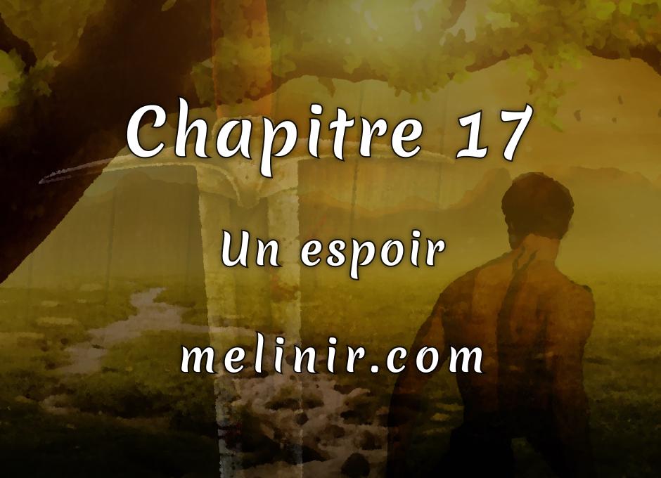 Melinir Tome 1 - Chapitre 17 - Un espoir