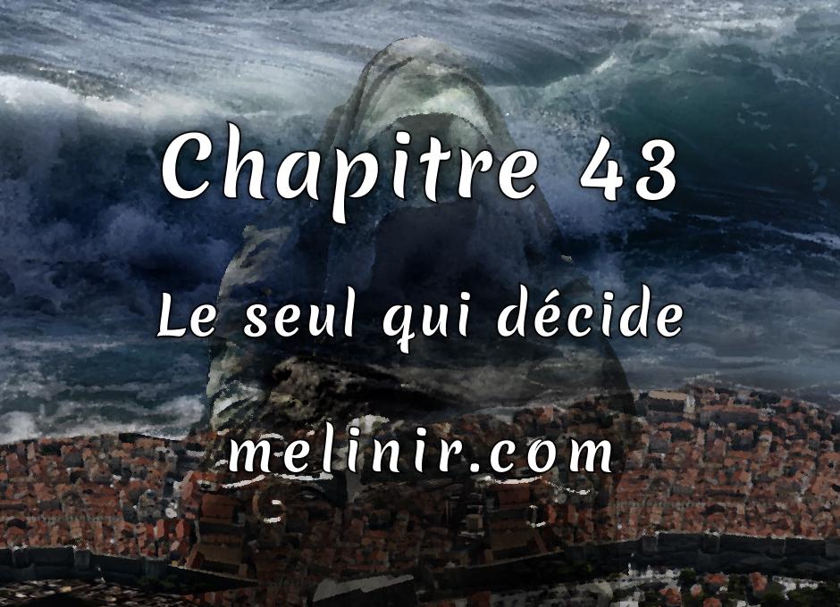 Melinir Tome 1 - Chapitre 43 - Le seul qui décide