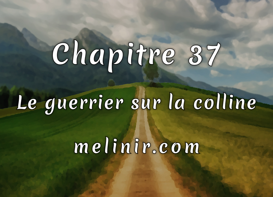 Melinir Tome 1 - Chapitre 37 - Le guerrier sur la colline